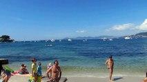 2014 07 13 Plage des Ondes Cap d'Antibes Côte d'Azur Alpes Maritimes Région PACA France