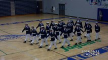 1st Place Unarmed Exhibition BWHS Mens Varsity Silent Sentry Drill Team 2011 Blue Springs drill meet