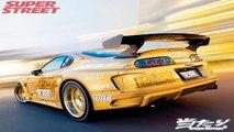 Toyota Supra VS Yamaha R1 - Top Speed