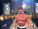 The Rock and Hulk Hogan vs Kevin Nash and Scott Hall