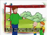 Caillou's Stronger every day with subtitles