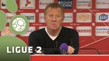 Conférence de presse Stade Brestois 29 - Valenciennes FC (1-0) : Alex  DUPONT (SB29) - David LE FRAPPER (VAFC) - 2014/2015