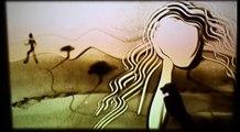 """Sand Art by Ilana Yahav - SandFantasy - """"My eyes"""" - Yehuda Poliker in Caesarea"""