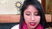 Evaliz Morales, (Hija del presidente Evo Morales) se solidariza con Ayotzinapa