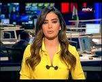 Jessica Azar - Prime Time News 25/04/2015- MTV Lebanon