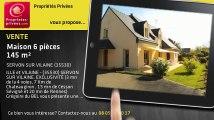 A vendre - maison - SERVON SUR VILAINE (35530) - 6 pièces - 145m²