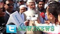 اسلام آباد: مولانا احمد لدھیانوی عرب میڈیا کو انٹریو
