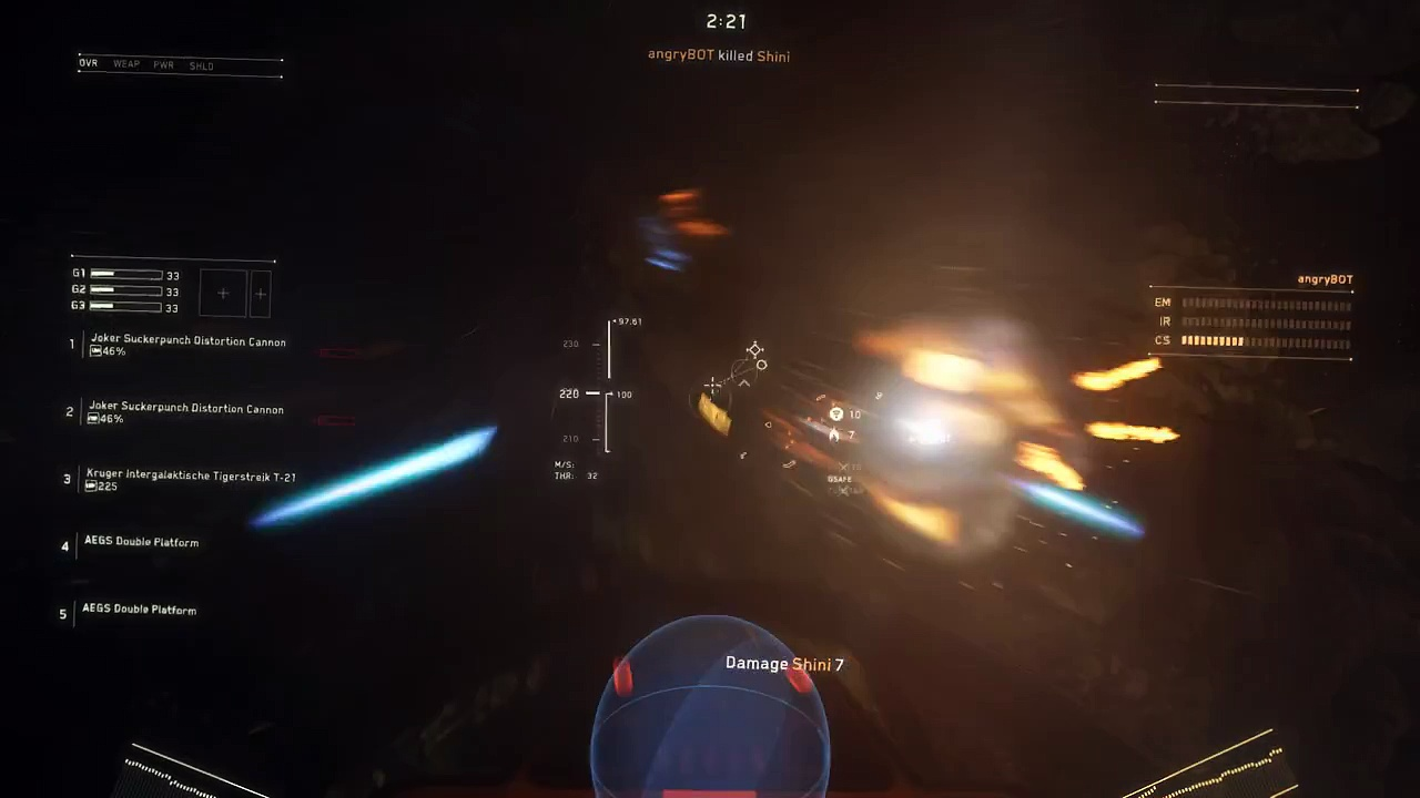 Star Citizen – Dying Star – Low Settings