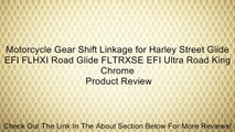 Motorcycle Gear Shift Linkage for Harley Street Glide EFI FLHXI Road Glide FLTRXSE EFI Ultra Road King Chrome Review