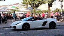 Supercars in Hamburg 2014 - McLaren 650S, 9ff GT3RS, Gallardos, AMGs, 458s, GT3s, F430s & more