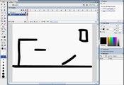 A Basic stickman animation using macromedia flash (EASY)