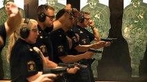 Polisen i Malmö lär sig skjuta på riktigt