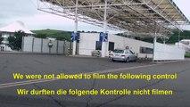 Fahrt durch den Eurotunnel von Folkestone nach Calais