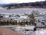 اقوى اللحظات  تسونامي اليابان