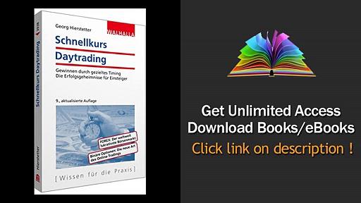 Schnellkurs Daytrading Download PDF