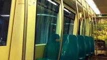 RET Metro rit Marconiplein-Eendrachtsplein Rotterdam (in 5306 met 'Groene stroom' Cabinewand)