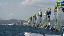 ISAF Sailing World Cup Hyeres 2015 - SWC Hyères - Meet Peter Burling & Blair Tuke