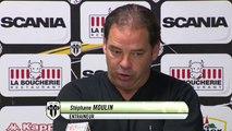 Conférence presse après match Angers SCO - AC Ajaccio
