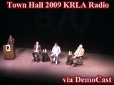 Dennis Miller, Larry Elder, Dennis Prager, Michael Medved - KRLA TownHall '09