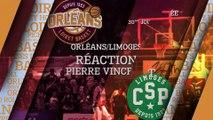 Réaction de Pierre Vincent - J30 - Orléans reçoit Limoges