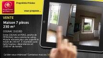 A vendre - maison - COGNAC (16100) - 7 pièces - 230m²