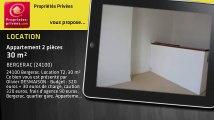 A louer - appartement - BERGERAC (24100) - 2 pièces - 30m²