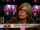 """Author Barbara Ehrenreich on her new book """"Bright-Sided"""" Democracy Now 10/13/09 1 of 2"""