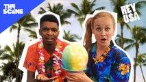 HeyUSA - Mamrie & Kingsley in Hawaii: Hula Dance - The Ancient Twerk