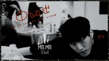 JIN (진) of Mr.M - Goodbye Waiting room Performance k-pop [germam Sub]