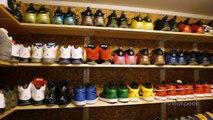 """A """"Sneak Peek"""" Inside Rudy Gay's Sneaker Rooms"""