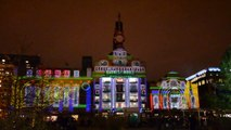 Christmas Laser Light Show in Baltimore Maryland