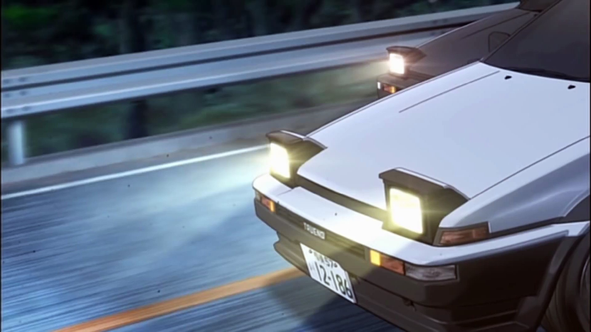 Initial-D Final Stage HD - Wings - AE86 Battle Hatch vs Coupe