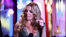 Angelique y Sebastian Backstage Premios TVyNovelas 2015