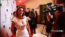Angelique Boyer Backstage Premios TVyNovelas 2015