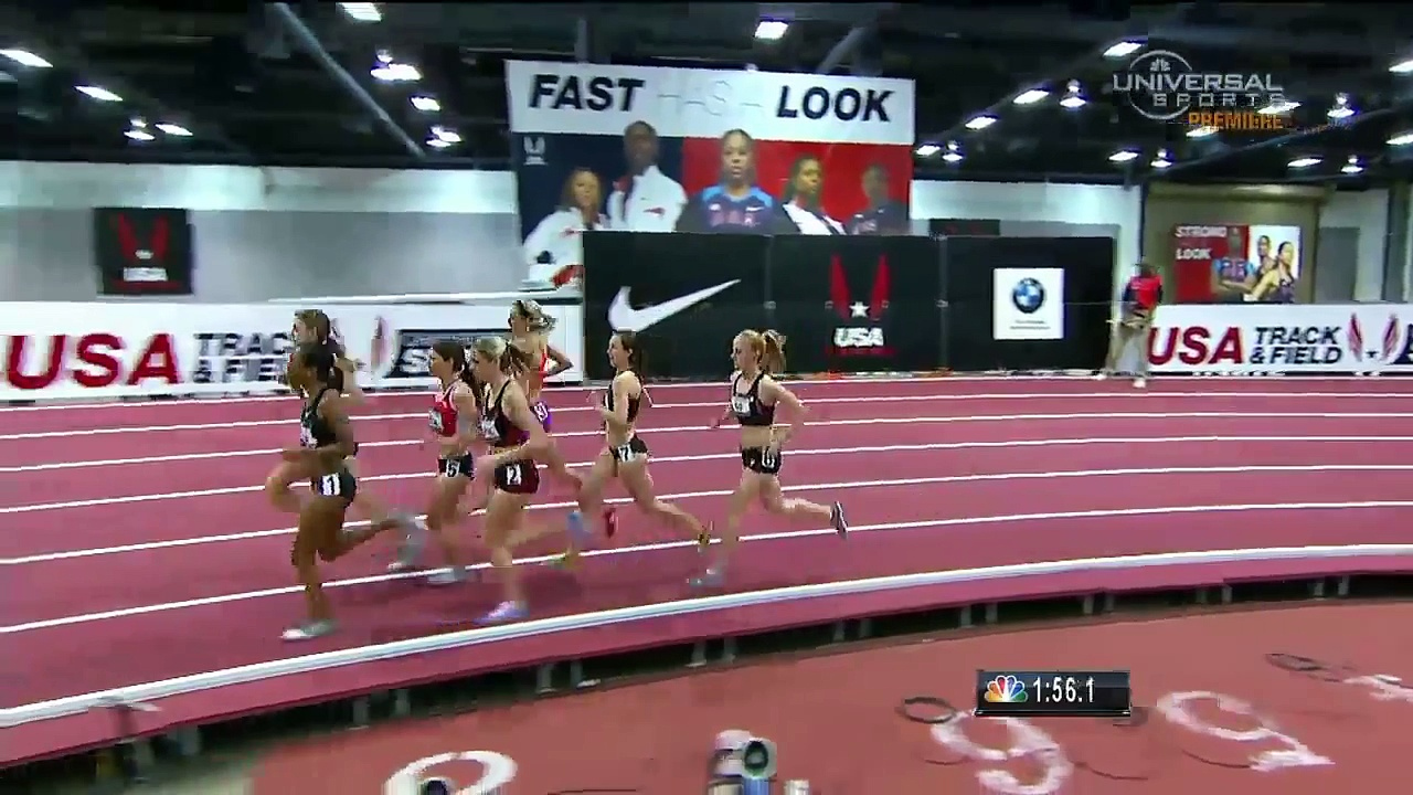 Mary Cain wins US Women's 1 Mile Indoor title – Universal Sports