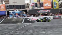 Ken Block and Vaughn Gittin Jr. Insane Octane Academy Drifting at SEMA Show 2013