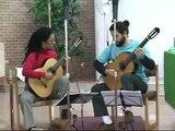 Brasil Guitar Duo records Fandango by Tedesco for Naxos
