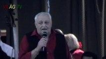 Fekete László a Szanyi Cigánybálon