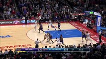 Blake Griffin Hits Game-Winning 3-Pointer in OT - Taco Bell Buzzer Beater