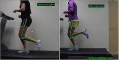 Analyse course à pied talon vs milieu du pied en vidéo