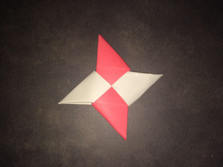 Tuto Origami Etoile Shuriken Facile