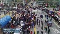 Baltimore secouée par des violences après la mort d'un jeune Afro-Américain