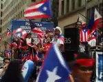 PARADA DE PUERTO RICO EN NUEVA YORK CON RICKY MARTINS Y OTROS MUSICOS BORICUAS