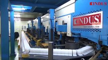 KINDUS - Mineral(Rock)-wool Sandwich Panel Production Line(PUR Side Injection system)