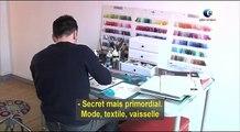 Frédéric, designer textile, une vidéo métier Pôle emploi