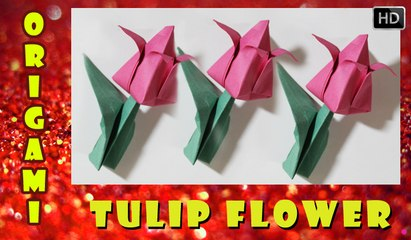 Papercraft lotus tulip flower origami how to make paper lotus papercraft lotus tulip flower origami how to make paper lotus flower traditional paper toy papercraftsquare mightylinksfo