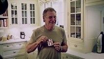 David Blaine fait un tour de magie à Harrison Ford