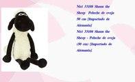 Nici 33108 Shaun the Sheep  Peluche de oveja 50 cm