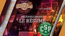 Résumé - J30 - Orléans reçoit Limoges