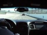 Driving my 2004 Z06 around Texas Motor Speedway